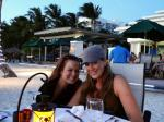andrea and i on beach dinner use